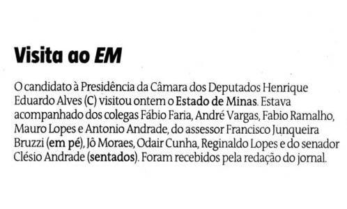 Estado de Minas 17 de janeiro 2013