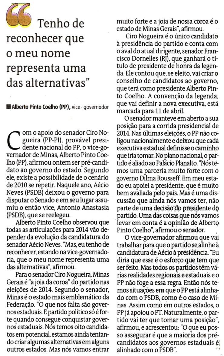 Estado de Minas 26 de março 2013-2