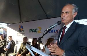 Governador em exercício, Antônio Andrade participa de evento em Mateus Leme