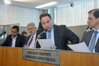 Comissão de Transporte, Comunicação e Obras Públicas debate as condições da Rodovia MG-677, no trecho do Km 42, que liga os Municípios de José Gonçalves de Minas à Virgem da Lapa