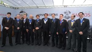 Medalha Santos Dumont. Credito: Renato Cobucci/ Imprensa-MG Data: 29-10-2015