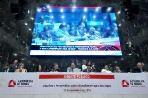 Debate Público: Os desafios e as perspectivas para a regulamentação dos jogos