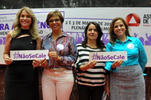 Ciclo de debates Dia Internacional da Mulher: Mulheres Contra a Violência - Autonomia, Reconhecimento e Participação
