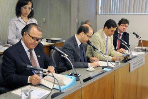 Vanderlei Miranda (deputado estadual PMDB/MG), Tiago Ulisses (deputado estadual PV/MG), Tito Torres (deputado estadual PSDB/MG), André Quintão (deputado estadual PT/MG)