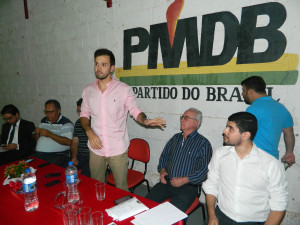 Reunião pré-candidatos PMDB Dep Tadeu Martins Leite - Foto Luís Alberto Caldeira