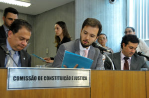 Leonídio Bouças (deputado estadual PMDB/MG), Tadeu Martins Leite (deputado estadual PMDB/MG), Cristiano Silveira (deputado estadual PT/MG)
