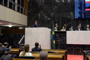 Tony Carlos (deputado estadual PMDB/MG),  Henrique Braga (presidente da Câmara Municipal de Melo Horizonte - PSDB/MG), Christiane Neves Procópio Malard (defensora pública geral do Estado de Minas Gerais), Alencar da Silveira Jr. (2°- secretário da ALMG - PDT/MG), Dalmo Ribeiro Silva (2°- vice-presidente da ALMG - PSDB/MG), Rogério Correia (1°- secretário da ALMG - PT/MG)