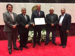 ALMG concede título de Cidadão Honorário