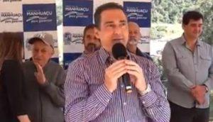 Emendas parlamentares garantem obras em Manhuaçu