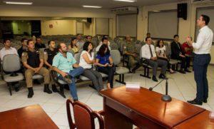 Reunião do Deputado Douglas Melo com o Consep na noite de ontem em Pompéu