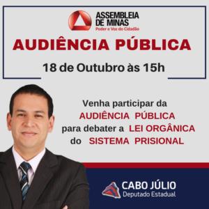 Convite audiência pública - Lei Orgânica
