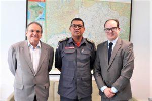 Hélio Campos, Coronel Cláudio e Thiago Cota
