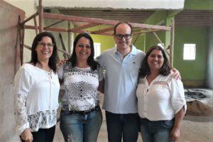 Deputado Thiago Cota em visita a Escola Estadual Madre Santa Face